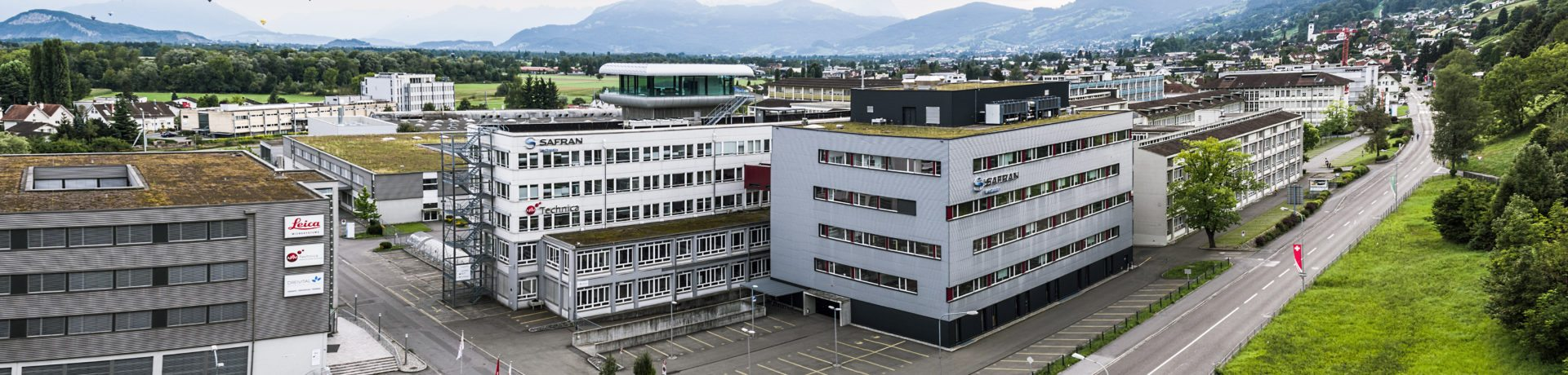 Safran Vectronix AG Headquaters Heerbrugg, Switzerland