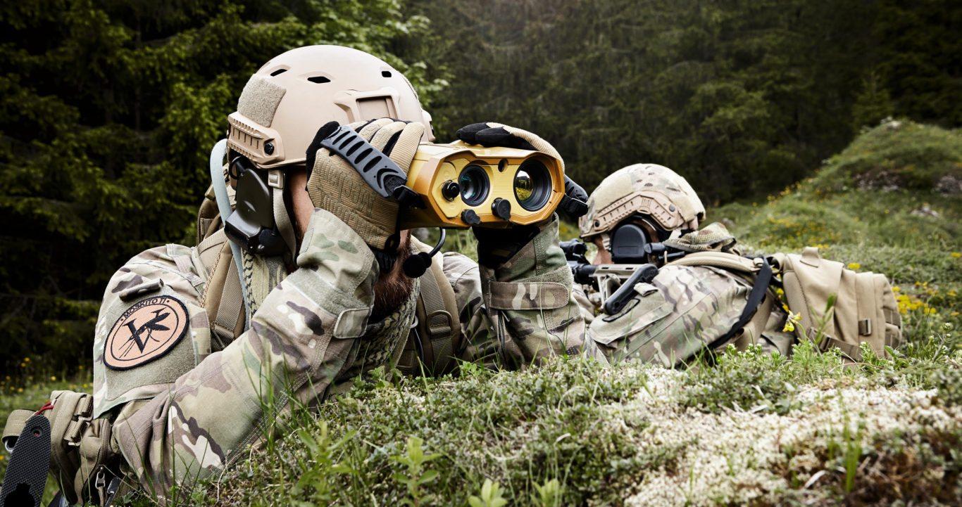 MOSKITO TI lightweight multi-purpose target locator and laser rangefinder