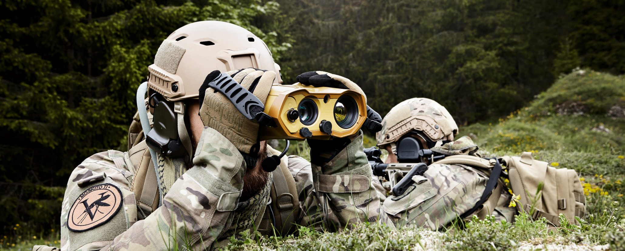 MOSKITO TI lightweight multi-purpose target locator and laser rangefinder