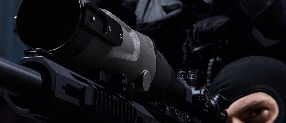 NiteSpotMR – Medium Range Clip-On Night Sight