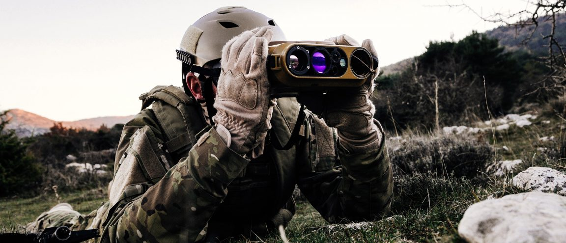 JIM-Compact lightweight laser rangefinder for military & mission