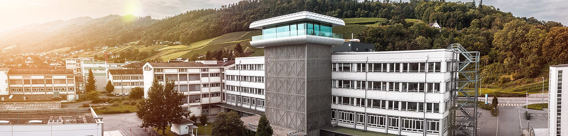 Safran Vectronix Building Switzerland